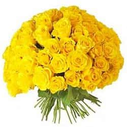 Кенийские розы Желтые 40 см 101 шт