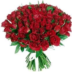 Кенийские розы Красные 35-40 см 101 шт