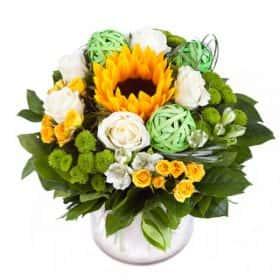 Фото букета цветов для мужчины с днем рождения 10