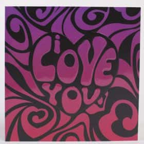 Открытка «Love you»