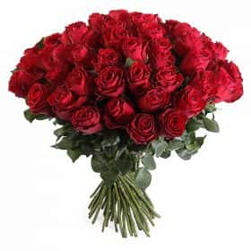Букет Прекрасная незнакомка (51 роза)