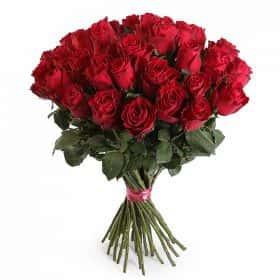 Букет Прекрасная незнакомка (35 роз)