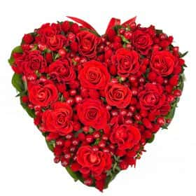 Композиция «Горячее сердце»