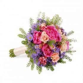 Свадебный букет Виолетта