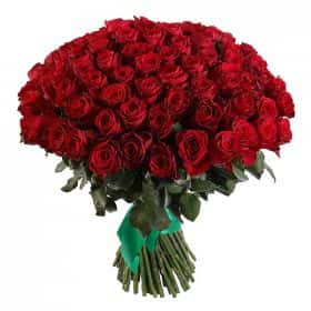 Букет Прекрасная незнакомка (101 роза)