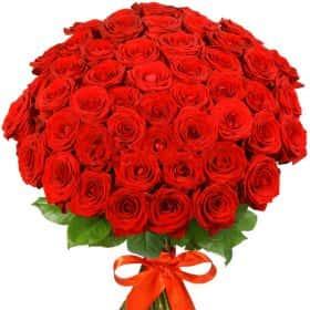 "101 красная роза ""Ред Наоми"""