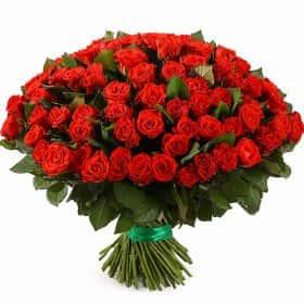 Букет 101 российская роза