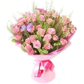 Букет из кустовой розы «Милая моя»