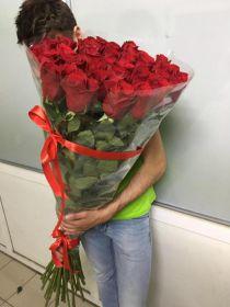 21 длинная роза 140 см