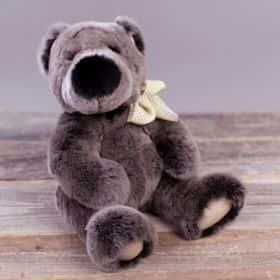 Медведь из меха «Орилаг» (gray)
