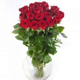 "25 красных роз ""Ред Наоми"""