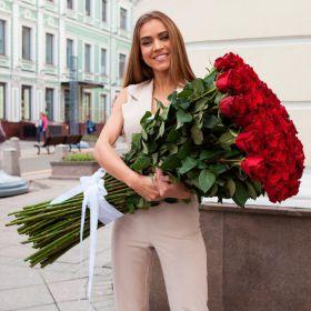51 роза 160 см