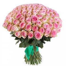 Букет Нежный ангел (101 роза)