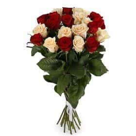 Букет Признание в любви (21 роза микс)