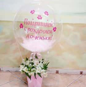 ШАР С АЛЬСТОМЕРИЯМИ
